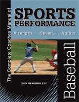 The Complete Coaches Manual of  Sports Performance - BASEBALL manual & instructional video