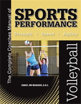 The Complete Coaches Manual of  Sports Performance - VOLLEYBALL manual & instructional video