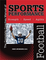 The Complete Coaches Manual of  Sports Performance - FOOTBALL manual & instructional video